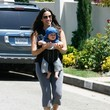 Ever Treadway Alanis Morissette and Family Out For A Stroll in LA