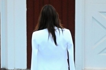 Alessandra Ambrosio Celebrities Party at the Brentwood Country Mart