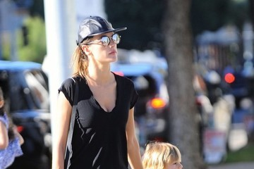 Alessandra Ambrosio Noah Mazur Alessandra Ambrosio Goes Out With Her Son Noah