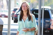Alessandra Ambrosio Out Shopping At Nordstrom