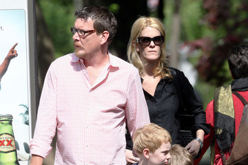 Simon van Kempen Francois van Kempen Alex McCord And Family Out For A Walk In New York