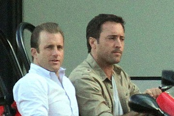 Alex O'Loughlin 'Hawaii Five-O' Films in Waikiki