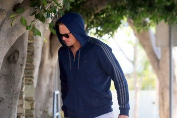 Alexander Skarsgard Alexander Skarsgard Leaves the Gym