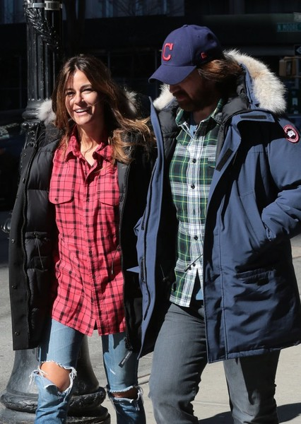 Kelly Bensimon Steps Out In New York City