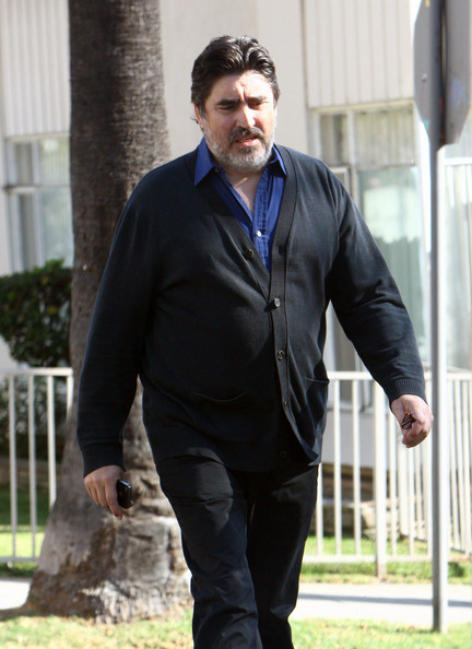 Alfred Molina Takes A Stroll