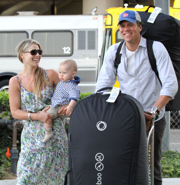 Ali Larter and husband