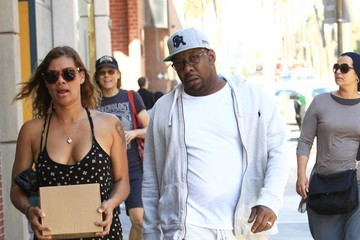 Alicia Etheredge Bobby Brown & Alicia Etheredge in Beverly Hills