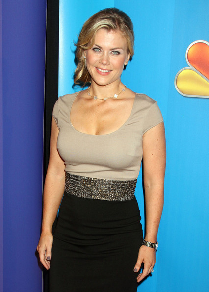 Alison sweeney celebrities attending the 2011 nbc upfront event at the