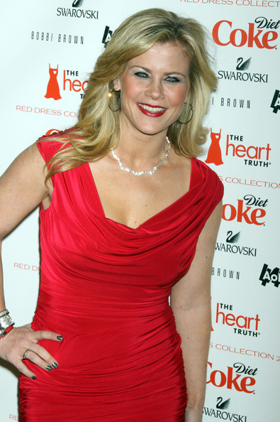Alison Sweeney Celebrities at The Heart Truth's Red Dress Collection ...