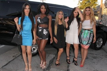Ally Brooke Camila Cabello Celebrities Dine Out at Craig's Restaurant
