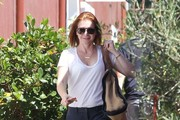 Alyson Hannigan Is All Smiles in Brentwood