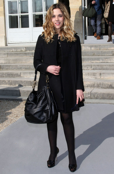 Alysson Paradis Celebrities at the Dior Fashion Show during the 2011 Paris Fashion Week in Paris, France.