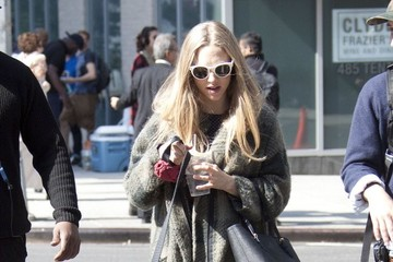 Amanda Seyfried Amanda Seyfried and Mark Wahlberg Film 'Ted 2'