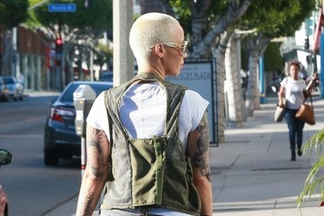 Amber Rose Amber Rose Gets Lunch in West Hollywood