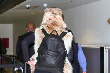 Amber Rose Amber Rose Catches a Flight at LAX Airport