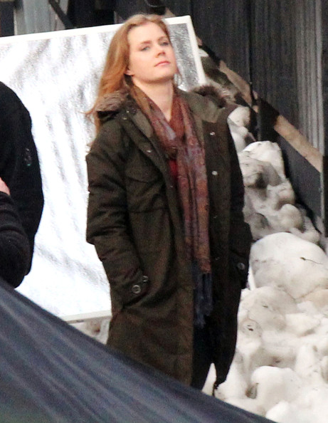Amy Adams Pictures - Amy Adams On The Set Of 'Man Of Steel ...