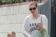 Amy Adams & Family Out And About In Studio City