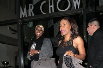 Andrea Kelly Celebs Get Dinner at Mr. Chow