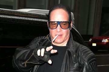Andrew Dice Clay Celebrities at Sirius Radio In NYC