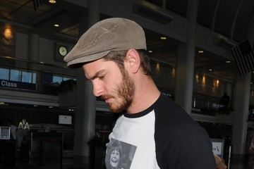 Andrew Garfield Andrew Garfield Arrives at LAX
