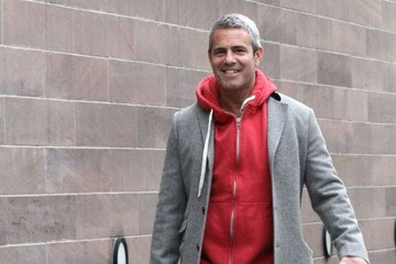 Andy Cohen Andy Cohen Walks His Dog in NYC