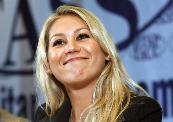 Anna Kournikova - Anna Kournikova Attending Press Conference In Moscow