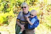 Anna Faris Out and About with Her Son