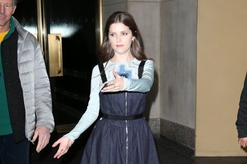 Anna Kendrick Celebrities Perform on 'The Today Show'