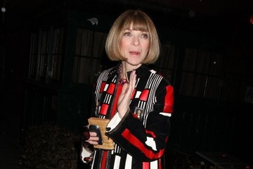 Anna Wintour Kim and Kanye Get Dinner with Anna Wintour