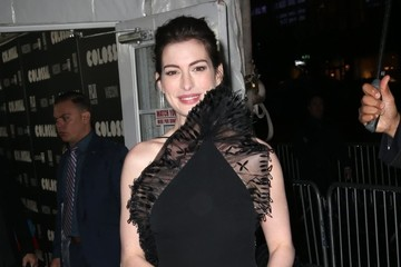 Anne Hathaway Celebrities Are Seen Out in NYC
