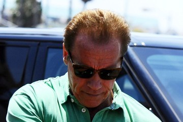 Arnold Schwarzenegger Arnold Schwarzenegger Out For Father's Day Brunch