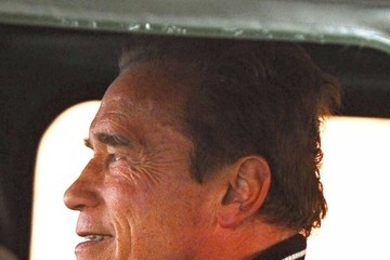 Arnold Schwarzenegger Arnold Schwarzenegger Out For Lunch In Brentwood