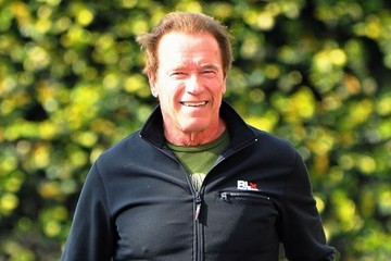 Arnold Schwarzenegger Arnold Schwarzenegger Stops by the Gym