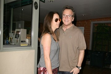 Ashley Groussman Tom Arnold and His Wife Visit a Nail Salon