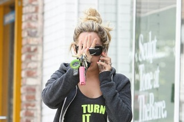 Ashley Tisdale Ashley Tisdale Heads To Pilates