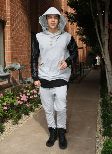 Austin Mahone Out and About in LA