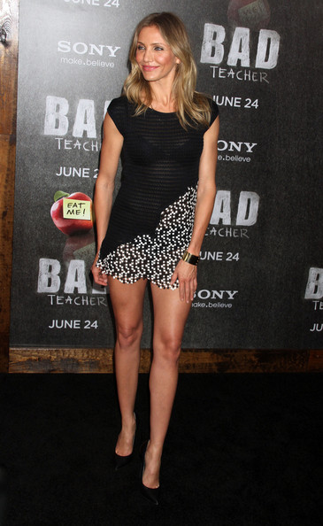 Celebrities at the premiere of 'Bad Teacher' in New York City, NY.