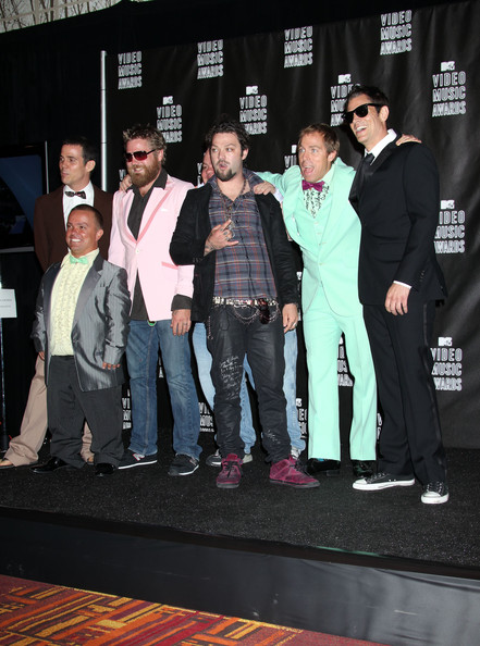 In This Photo: Johnny Knoxville, Bam Margera, Wee Man, Steve-O, Ryan Dunn,
