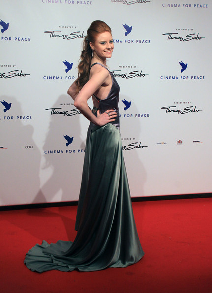 Barbara Meier - Celebrities Arriving At The Cinema For Peace Gala
