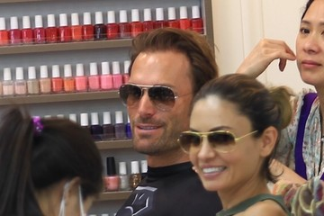 Bastian Yotta Bastian Yotta and His Girlfriend Get Their Nails Done in Beverly Hills