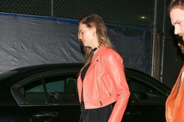 Behati Prinsloo Behati Prinsloo Stops By Craig's In West Hollywood