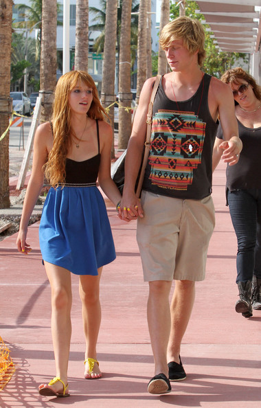Bella Thorne - Bella Thorne Out in Miami with Her Boyfriend