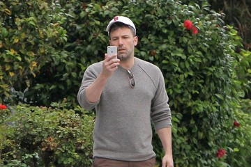 Ben Affleck Ben Affleck Takes His Mother and Son To Breakfast