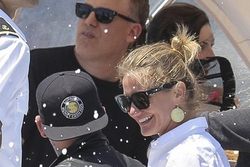 Benji Madden Cameron Diaz & Benji Madden Vacation In France