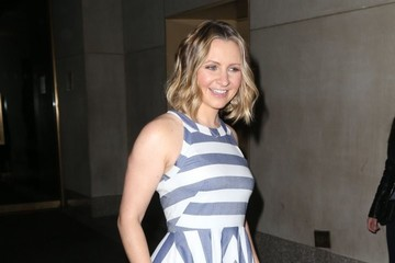 Beverley Mitchell Celebrities At 'The Today Show' In NYC