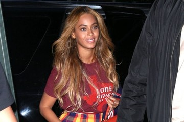 Beyonce Knowles Beyonce and Jay-Z Enjoy a Night Out in NYC