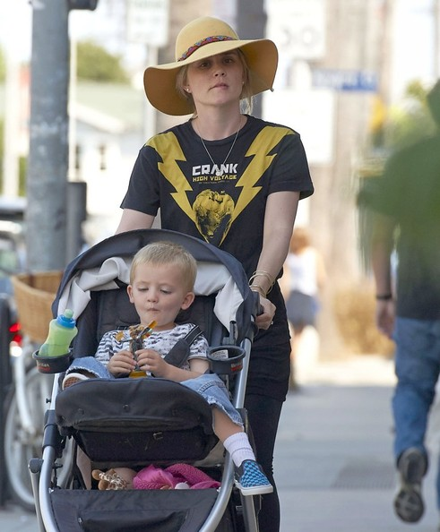 Billy Neveldine Pictures - Alison Lohman Takes Her Son for ...