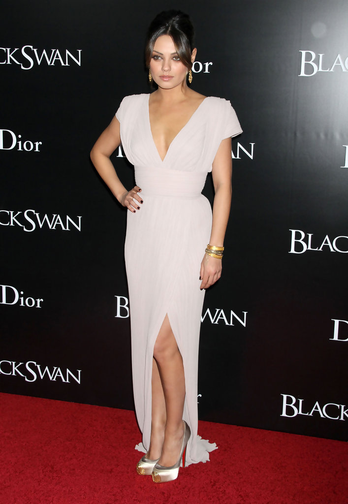 Mila+Kunis in 'Black Swan' New York Premiere