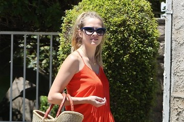 Bodhi Webber Teresa Palmer Takes Her Son to a Swimming Lesson