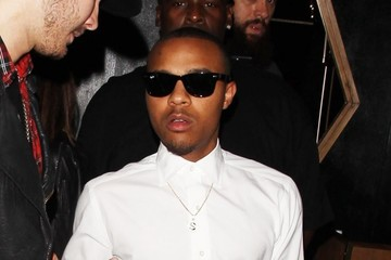 Bow Wow Celebrities Enjoy A Night Out At Bootsy Bellows